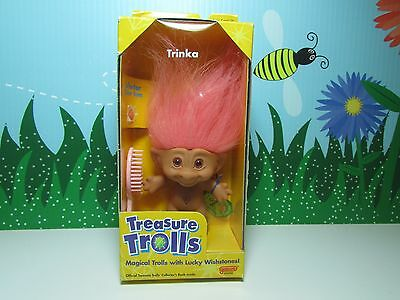 "TRINKA  - 3"" Ace Treasure Troll - NEW IN BOX"