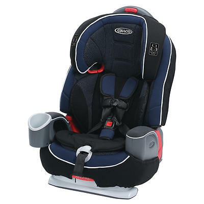 New Graco Nautilus 65 LX 3-in-1 Harness Booster Car Seat - Royalty