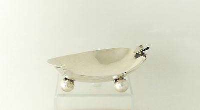 Lopez Taxco Sterling Silver Ashtray