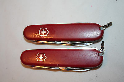 2  Victorinox CLIMBERS Swiss Army Swiss Made 14  Multi-Function SwissArmy Kn