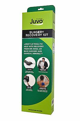 "Juvo Products 5-Piece Surgery Recovery Kit, Including 20"" Reacher/Grabber and Dr"