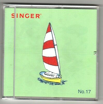 Singer XL-150, 1000 Embroidery Card 17 Nautical Designs