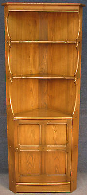 Ercol Elm Old Colonial 474 Golden Dawn Corner Unit / Cabinet / Cupboard No 3