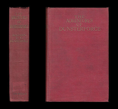 Dunsterville ADVENTURES OF DUNSTERFORCE Hamadan PERSIA Cossacks MESOPOTAMIA BAKU