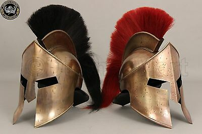 Combo Medieval King Leonidas Spartan Helmet 300 Movie Helmet Wholesale Price Zw5