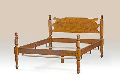 Made In Usa King Size Bed Frame Country Style Bedroom Wood Furniture Great New