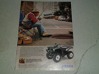 2002 YAMAHA GRIZZLY 660 article / ad