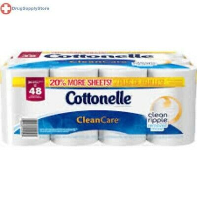 Cottonelle Clean Care Double Roll Top 12 X 4 ct