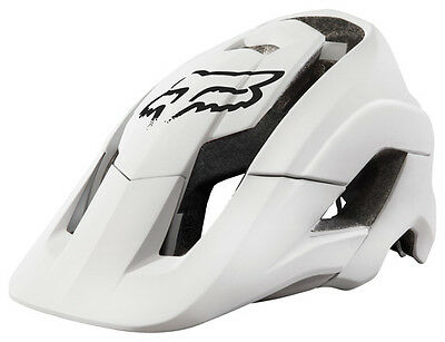 Fox 2016 Metah Solids MTB XC Enduro DH Helmet - S/M - White *SALE*