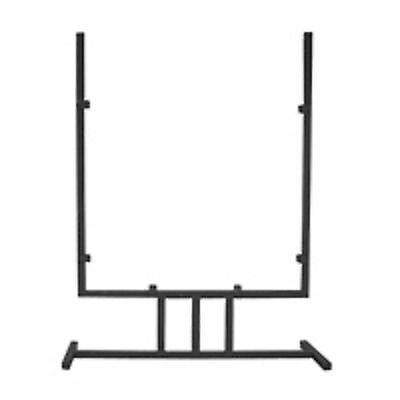 Art Glass Display Wrought Iron 12 x 14 Inch Verticle Mission Art Panel Stand