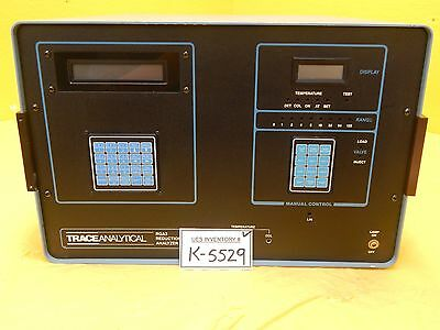 Trace Analytical RGA3 Reduction Gas Analyzer H2 CO Used Working