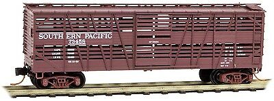 Micro-Trains MTL N-Scale 40ft Despatch Stock Car Southern Pacific/SP #73458