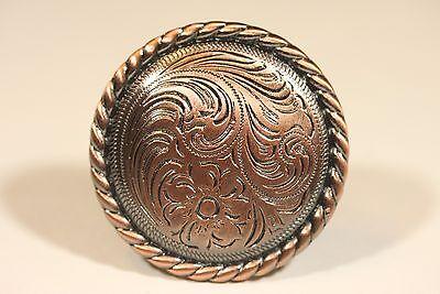 Fancy Western Knob Antique Copper Cabinet Hardware Drawer Pulls