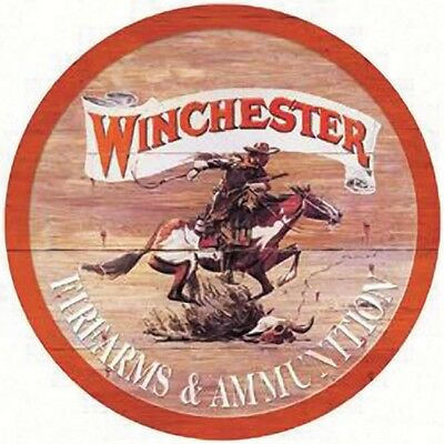 Vintage Replica Tin Metal Sign Winchester Firearms & ammunition Rifle Pistol 975
