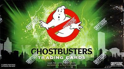 Ghostbusters Movie Trading Card Sealed Hobby Box Cryptozoic 2016 Murray Aykroyd
