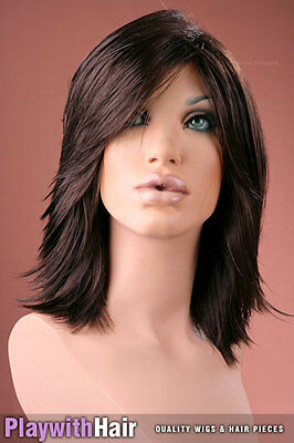 Stylish Cute Thick Short Wig - COLOUR CHOICES!