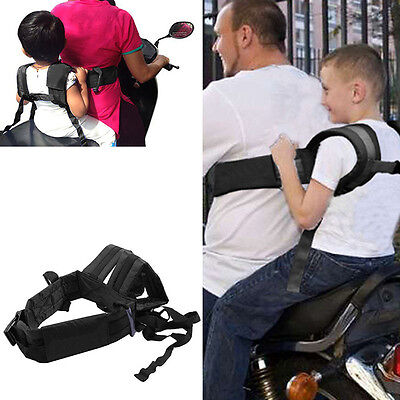Motorcycle Baby Safety Seat Strap Belt Harness Chest Child Kids Safe Buckle New
