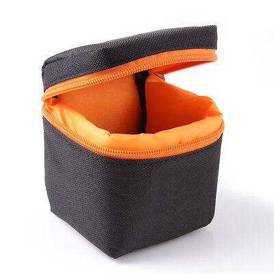 Waterproof Padded Mirrorless Camera Lens Bag Pouch Protector Small Mini Case