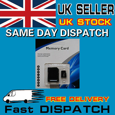 64GB Class 10 Micro SD SDHC Memory Card TF Flash Free Adapter Retail Package
