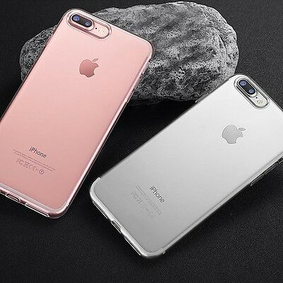 Fit for iPhone 8 Plus/7 Plus Stylish Ultra-thin Soft Silicone Phone Case Cover
