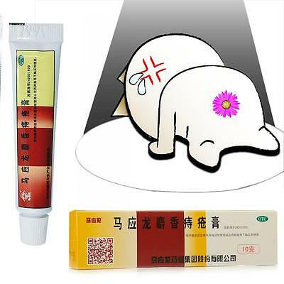 10g Mayinglong Ointment Hemorrhoids Bleed Relief Musk Cream Health Care