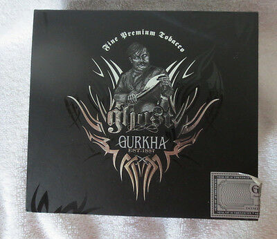 Gurkha Ghost Shadow Robusto Paper Covered Cigar Box -  Nice - Beautiful!
