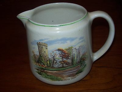 "Lord Nelson/Elijah Cotton ""Warwick Castle"" Jug - Old English Castles Series"