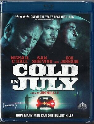 Cold in July (Blu-ray Disc, 2014) Michael C Hall, Don Johnson, Sam Shepard