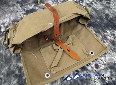 Reproduction German WWII Canvas Battle Pack / Bag / Haversack / Sack For A Frame