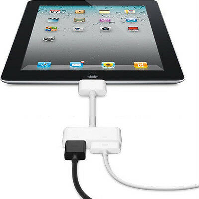Hot Digital AV HDTV Adapter 30 Pin Dock Connector to HDMI for Apple iPad iPhoneS