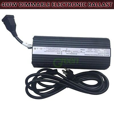 400W Ballast Digital Grow Light Electronic Ballast Dimmable MH HPS Lamp Watt
