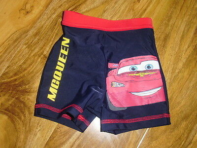 Boys Classic George Blue Mcqueen Boxer Type Swimming Trunks Age 9-12 Months