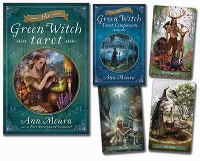 The Green Witch Tarot by Ann Moura Book & Merchandise Book (English)