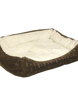 Dog Bed Pet Cushion Luxury Soft Warm Basket Puppy Cat Mat Large Medium Xl Comfy
