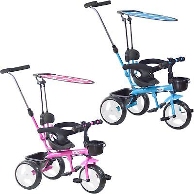 4 in 1 boppi® 3 Wheeled Childrens Kids Baby Tricycle Trike Boys Girls