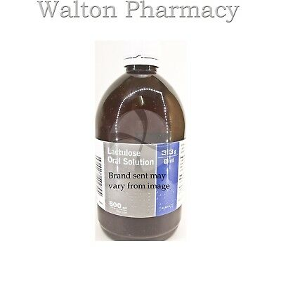 Lactulose solution B.P for relief from constipation fast free delivery 500ml UK