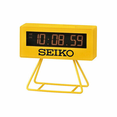 QHL062Y NEW Seiko Countdown Style Sports Timing Alarm Clock