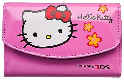 Hello Kitty Pink 3DS / DSi Accessory Pack - Nintendo 3DS Case, Screen Protector