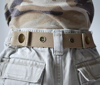 Dapper Snappers Original Toddler Pattern Belts - Beige