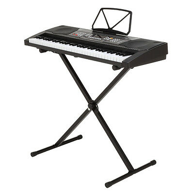 Homegear 61 Key Electronic Piano Keyboard with Stand / USB Accompaniment