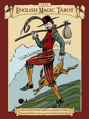 The English Magic Tarot by Andy Letcher (English) Paperback Book Free Shipping!