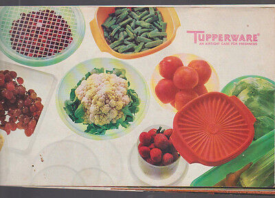 Tupperware Catalog 1973 Containers Gift Sets Keepers Servers
