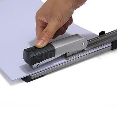 80g Sheet Long Arm Full Reach Iron Stapler+ Accurate Scale School Office Student