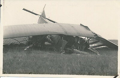 Aviation c. 1930 - Avion Farman 60 Accidenté - AVI 64