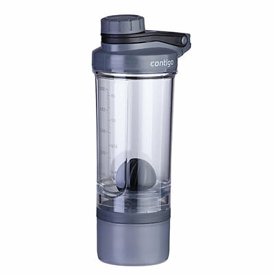 CONTIGO SHAKE AND GO + COMPARTMENT Trinkflasche Shaker 650ml BPA- frei  73222