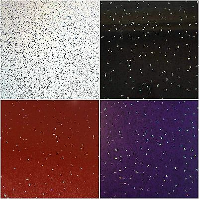 White, Black, Red or Purple Sparkle 5mm Bathroom Cladding PVC Wet Wall Panel