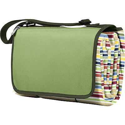 Picnic Time Blanket Tote - Riviera Stripes Outdoor Accessorie NEW