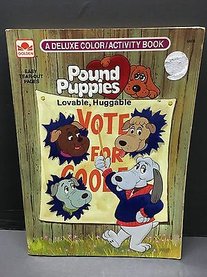 Pound Puppies Coloring Book 1986 Tonka NEW