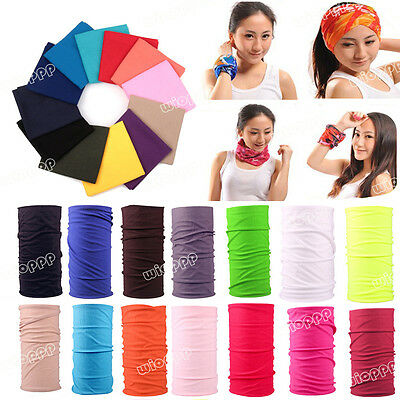 1PC Simple Full Function Ski Neck Tube Warmer Cycling Biker Scarf Wind Face Mask
