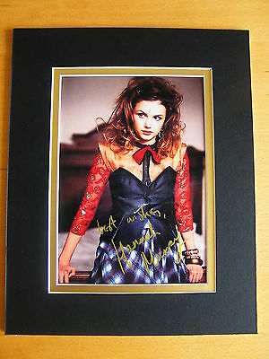 Hannah Murray Hand Signed Autograph 10X8 Photo Mount Skins Game Of Thrones & Coa